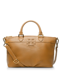 "Tory Burch Small Stacked ""t"" Leather Satchel"