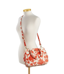 Tory Burch Small Printed Robinson Double Zip Tote