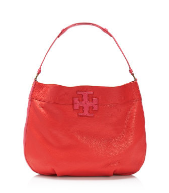 "Tory Burch Stacked ""t"" Hobo"