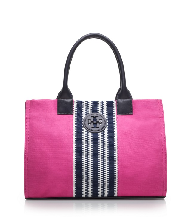 Center Stripe Mini Ella Tote