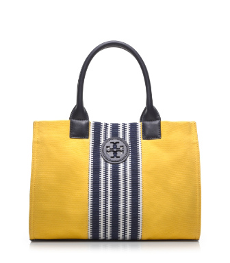 Tory Burch Center Stripe Mini Ella Tote