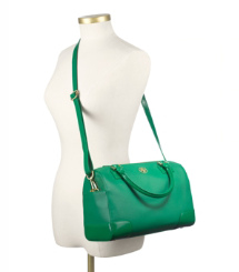 Emerald City Tory Burch Robinson Middy Satchel