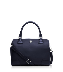 Parisian Blue Tory Burch Robinson Middy Satchel