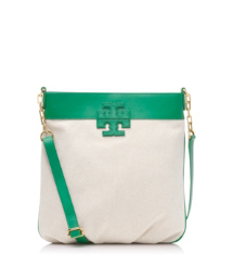 "Tory Burch Stacked ""t"" Book Bag"