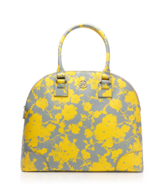 Tory Burch Printed Robinson Dome Satchel