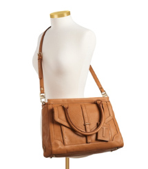797 Large Top Zip Satchel