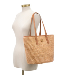 Tory Burch Straw Basket Tote