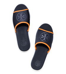 Tory Burch Neoprene Logo Slide