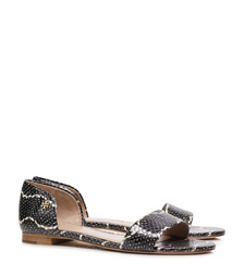 Tory Burch Savannah Flat Sandal