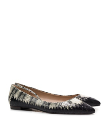 Tory Burch Bi-color Woven Flat