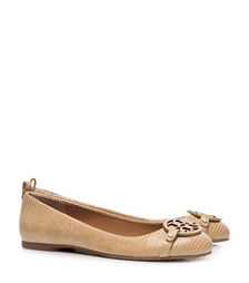 Trench Tan Tory Burch Mini Miller Flat