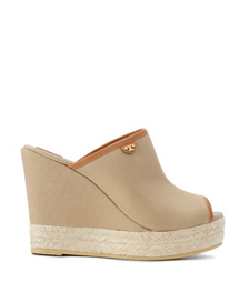 Tory Burch Canvas Mule