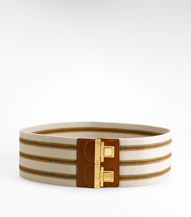 ESPADRILLE STRIPE BELT