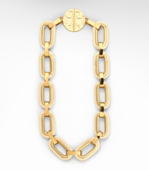 Ivory Tory Burch Heidi Link Necklace