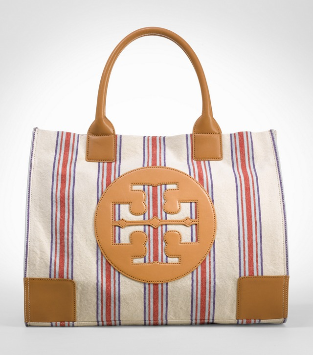 Striped Ella Tote