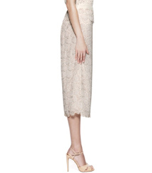 Creamy Almond Combo  Tory Burch Whitney Skirt