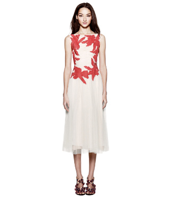 Ivory Tory Burch Codie Dress