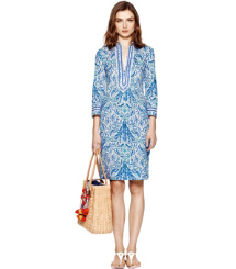 Ivory Akira  Tory Burch Tory Mini Dress