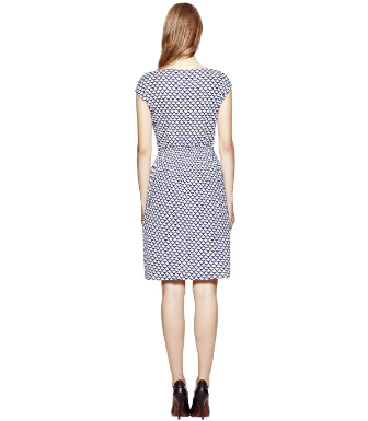 Ivory Scallope  Tory Burch Justina Dress