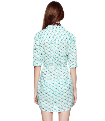 Tory Burch Sanibel Belted Tunic