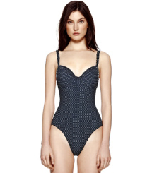 Tory Burch Montecito Ruffle One-piece
