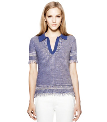 Poundcake / Blue Nile Tory Burch Brielle Sweater Polo