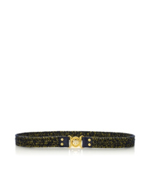 Mini Interlocking Logo Stretch Belt