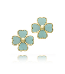 Mint Tory Burch Shawn Stud Earring