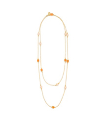 Tory Burch Clemens Rosary Necklace