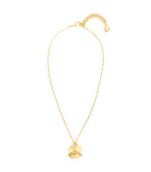 Gold Tory Burch Shawn Short Necklace