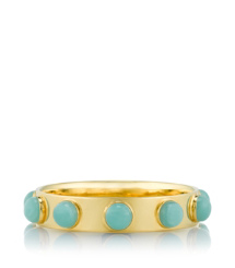 Amazonite/light Gold (green) Tory Burch Porter Bangle