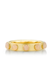 Rose Quartz/light Gold Tory Burch Porter Bangle