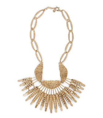 Tory Burch Multi Wheat Necklace