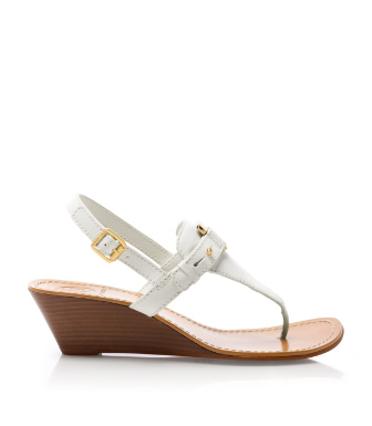 Tory Burch Casey Wedge Thong Sandal