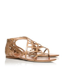 Tory Burch Amalie Patent Leather Sandal