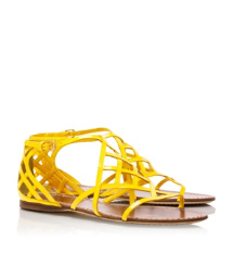 Amalie Patent Leather Sandal
