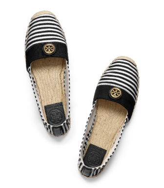 Bleach/black/black/natural Tory Burch Beacher Espadrille