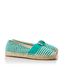 Natural/island Turq/island Turq/natural Tory Burch Beacher Espadrille