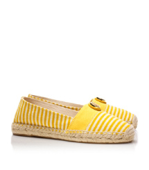 Natural/tory Yellow/tory Yellow/natural Tory Burch Beacher Espadrille
