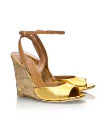 Metallic Ashton Wedge Sandal