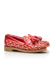 Careen Woven Color Loafer