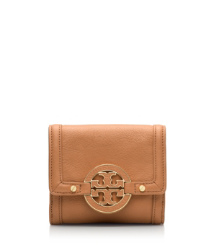 Tory Burch Portefeuille À Double Pression Amanda