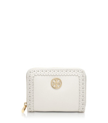 Tory Burch Robinson Spectator Zip Coin Case