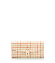 Tory Burch Priscilla Flap Continental Wallet