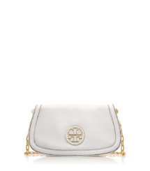 Bleach Tory Burch Amanda Logo Clutch