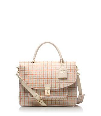 Tory Burch Printed Priscilla Top Handle Crossbody