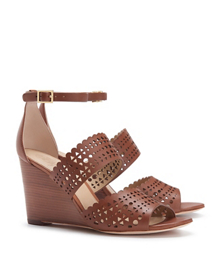 PERFORATED GLADIATOR WEDGE