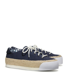 Tory Burch Platform Lace-up Espadrille Sneaker