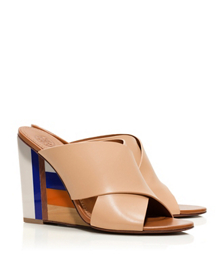 Sun Beige Tory Burch Color-cube Mule