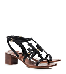 Black Tory Burch Chandler Sandal
